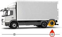 camion essieu arriere